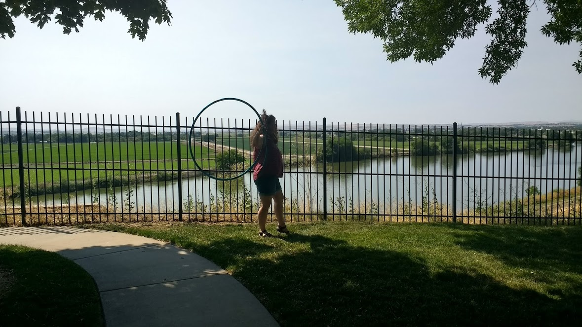 Hooping in Idaho