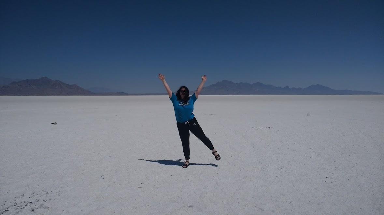 Me at Salt Flats