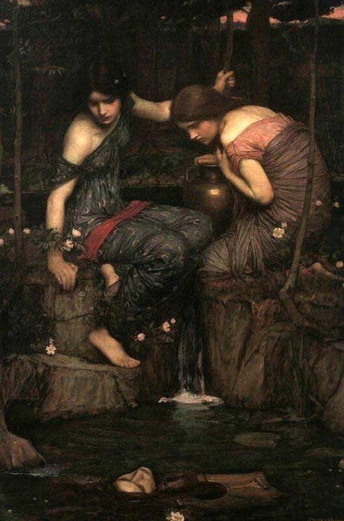 Women With Waterjugs Frank Dicksee