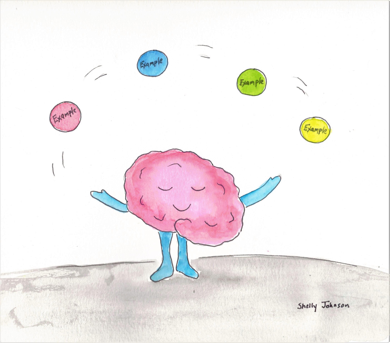 Thinking Mentor Juggling Examples
