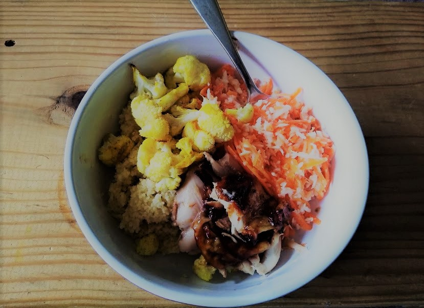 Cauliflower and couscouse and cabbage (3)